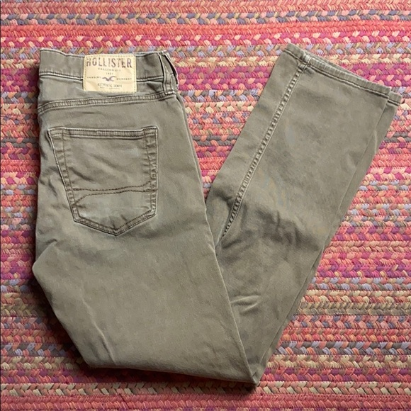 Hollister Denim - VINTAGE BROWN HOLLISTER SKINNY JEANS
